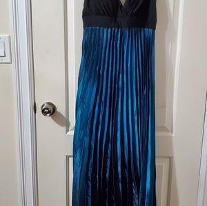 Blue Ombre Dress.